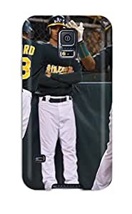 oakland athletics MLB Sports & Colleges best Samsung Galaxy S5 cases 5731046K225487447