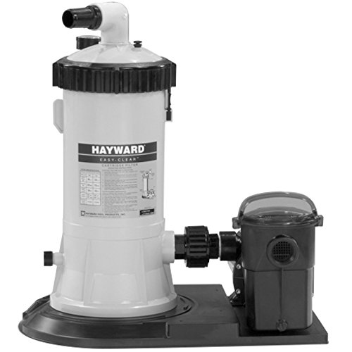 Hayward C5501575XES Easy-Clear Filter System with 1-Horsepower Power Flo LX - System Easy Filter Clear