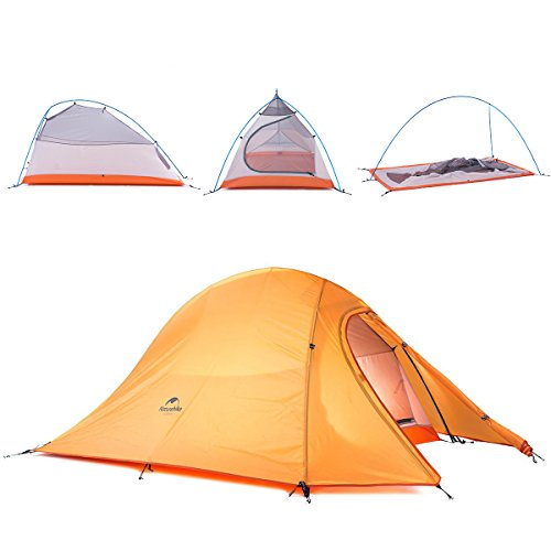 Naturehike Cloud-Up Ultra-light 4 Season 2 Person Tent (Orange) Review