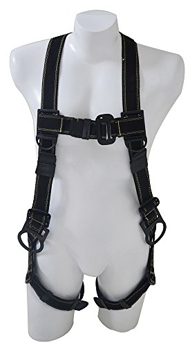 Nara Safe, NS9300007, Full body harness, 3 D-rings, in Kevlar/ Nomex, fire resistant by Nara Safe