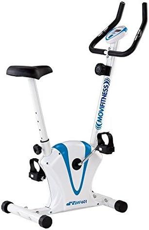 Bicicleta estática magnética mf601 Movi Fitness ajustable ...