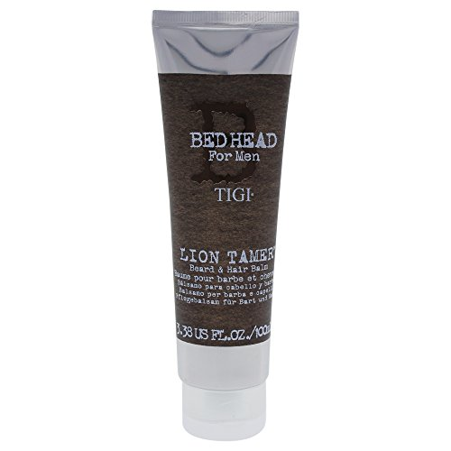 Price comparison product image Bed Head for Men Lion Tamer Beard and Hair Balm, 3.38 Ounce