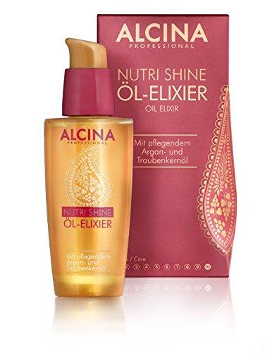 Alcina Nutri Shine Öl-Elixier 50 ml Pflegendes Haaröl für Glanz, Geschmeidigkeit und Glätte