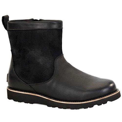 UGG Men's Hendren Tl Winter Boot, Black, 10 M US (Black Ugg Mens Boots)