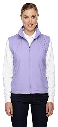 North End Ladies Full-Zip Lightweight Wind Vest, XS, Iris 653