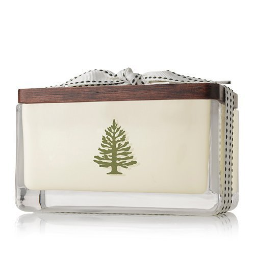 Thymes Frasier Fir Holiday 2 Wick Candle by Thymes (Image #1)