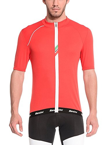 Santini Maillot Ciclismo 365 Zeit Rojo XS