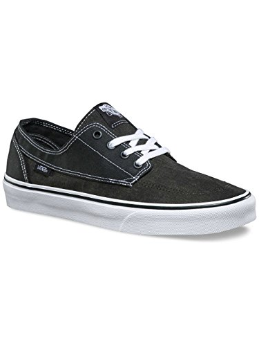 Vans Ua Brigata, Zapatillas para Hombre (washed Canvas) Pirate Black/white