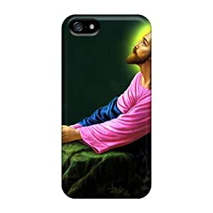 GuyMWam Snap On Hard Case Cover Garden Of Gethsemane Protector For Iphone 5/5s