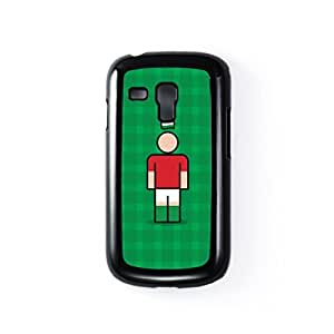 Hungary Black Hard Plastic Case for Samsung? Galaxy S3 Mini by Blunt Football International + FREE Crystal Clear Screen Protector