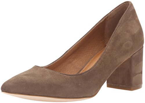 Corso Como Women's Regina Dress Pump, Taupe Suede, 8.5 M US