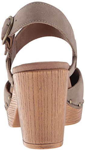 Dansko Women's Dotty Heeled Sandal Taupe Milled Nubuck footlocker cheap price zCZmvk1Z
