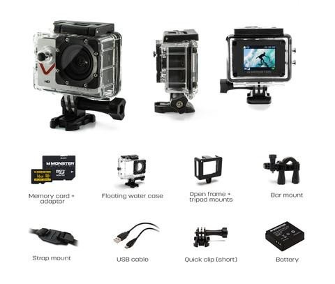 Monster Digital Monster Vision Digital Camcorder - 1.7'' LCD - HD