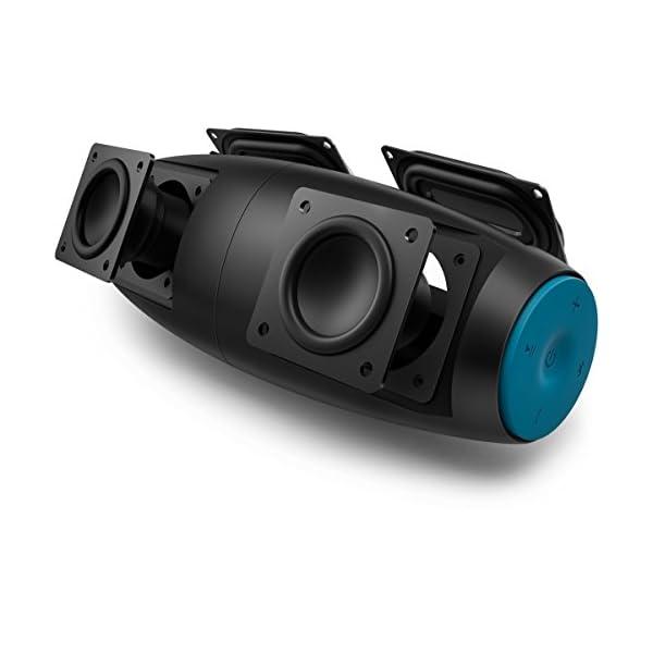 Philips Everplay BT7900A Enceinte Bluetooth Waterproof, Antichoc, avec Dragonne USB, 10h Autonomie, Bleu 3