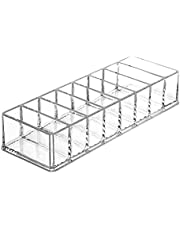 Acrylic Clear Makeup Organizer Holder Storage Case Boxes Container for Cosmetic Eyeshadow Face Powders