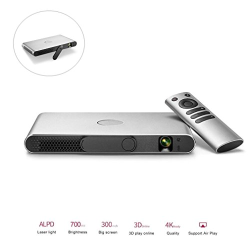 DOOLST 3D Projector 1080P 4K DLP Projector Home Cinema Projetor 2600 Lumens Full HD 1080P Wifi Beamer For Home Theater Entertainment