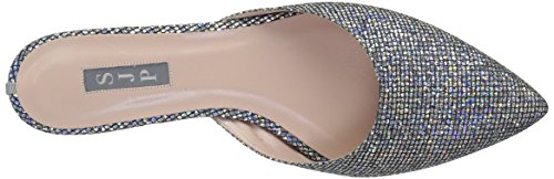 SJP by Sarah Jessica Parker Women's Slip Mules Silver (Silver Scintillate) lF3hQ9J