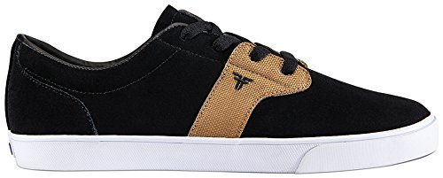 Fallen Chief XI Skate Shoe,Black/Gold,7.5 M US by Fallen