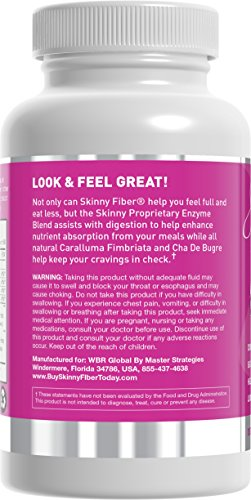 Skinny Fiber * Diet Product For Rapid Weight Loss. Digestive Enzymes And Appetite Suppressant. Lose Weight And Burn Fat . Diet Pills With Fiber.