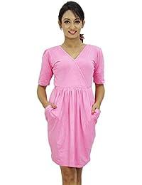 Women Beach Dress Short Length Casual Summer Wear Sundress