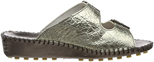 Collection Damen Herrmann Peltro Silber HHC Hans Clogs T8gqw5z
