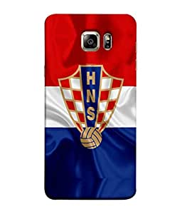 ColorKing Football Croatia 04 Multi Color shell case cover for Samsung S6 Edge Plus