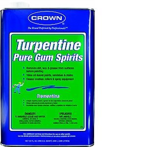 Crown 148691 TU.M.64 Qt Gum Turpentine by Crown