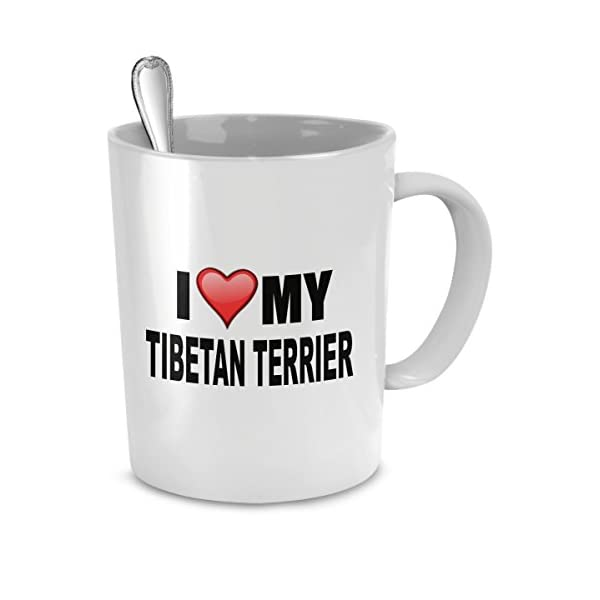 Tibetan Terrier Mug - I Love My Tibetan Terrier- Tibetan Terrier Lover Gifts- Dog Lover Gifts 2