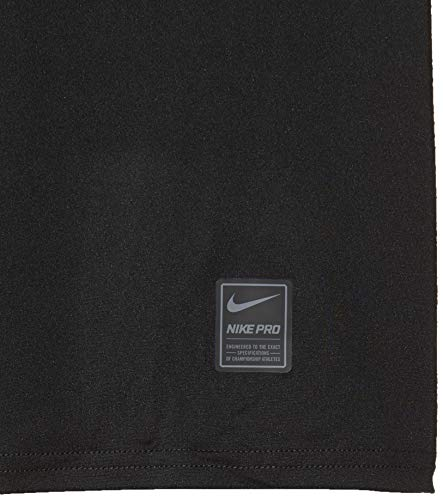 Nike Pro Boy's Compression T Shirt Small Polyester Black 3
