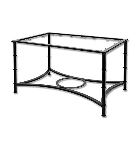 Mesa de Camilla elevable de forja - Sin aglomerado, 17-Amarillo ...