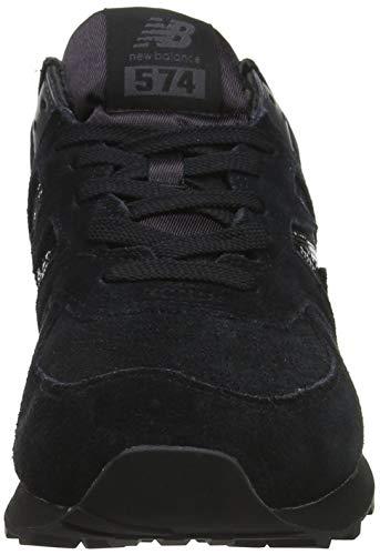 Mujer black Fha Para Balance Negro black Zapatillas 574v2 New q7xwAgIq