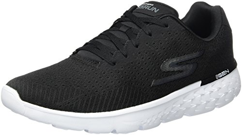 Skechers Performance Men's Go Run 400 Generate Running Shoe,Black/White Mesh,13 M - Us 400
