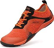 WHITIN Men's Minimalist Trail Runner | Wide Toe Box | Barefoot Insp