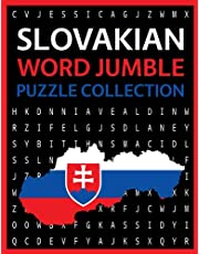 Slovakian Word Jumble Puzzle Collection: 200 Slovakian Fun Language Word Scramble Puzzles!