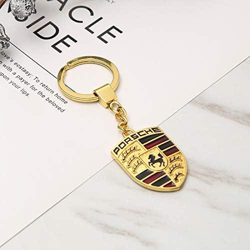 D28JD P-orsche Signe Porte-cl/és Porte-cl/és Pendentif Accessoires universels m/étal La publicit/é Cadeaux 1 pi/èces