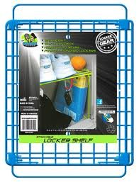 Shelf Organizer Locker (Blue Stackable Locker Shelf and Organizer)