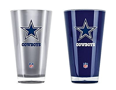 NFL Sports & Fitness 20-Ounce Insulated Tumbler - 2 Pack