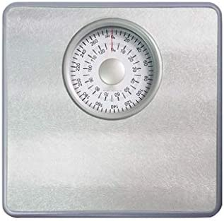 ZAQXSC-dzc 機械式体重計家庭用成人の体重減少健康はかり電子計量はかりミニスケールはかり (Color : Gray)