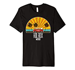 This retro Holbox Mexico tshirt is perfect for people who love saying aloha to surfing and swimming on the beach watching perfect sunsets! Get this vintage Holbox Mexico t-shirt today! Makes a great souvenir from Holbox Mexico and anyone who ...