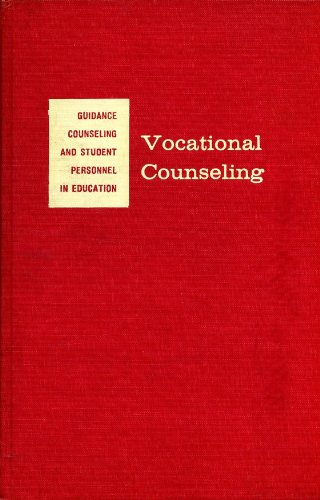 Vocational counseling: Some historical, philosophical, and theoretical perspectives (McGraw-Hill series in education)