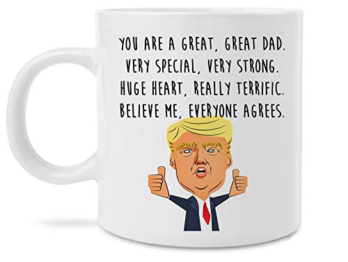 Funny Great Dad Donald Trump Novelty Prank Gift