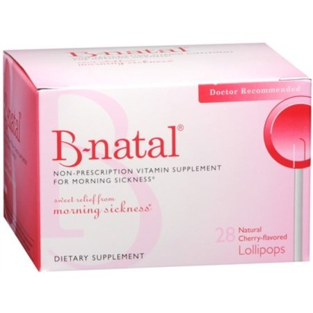 B-natal Cherry Flavored TheraPops 28 Each (Pack of 12) by B-Natal (Image #1)