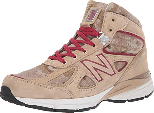 (New Balance Men's 990v4 Boot Incense/Nb Scarlet 9 D US)