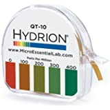 Micro Essential QT-10 Hydroid Quit Test Paper, 0-400 ppm (Pack of 10)