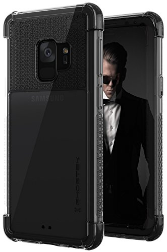 Ghostek Covert Clear Lightweight Durable Case Compatible with Galaxy S9 - Black