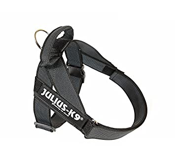 Julius-K9 - Arnés/dorsal IDC New Belt Harness en color negro, de ...
