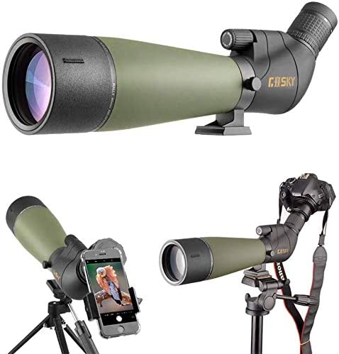 Gosky 2019 Updated Newest Spotting Scope with Tripod