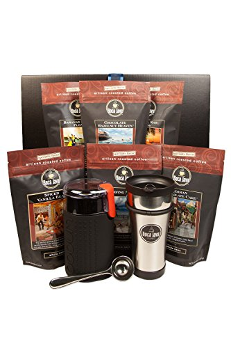 Boca Java - Roasted To Order Coffee The Ultimate Flavored Whole Bean Gift Set ()