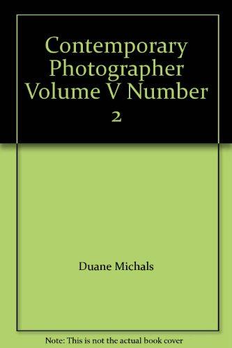 Contemporary Photographer Volume V Number 2