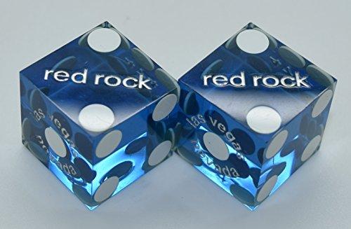 Spinettis Casino Used Dice Red Rock Matching Pair Las Vegas Nevada - Hotel Casino Dice